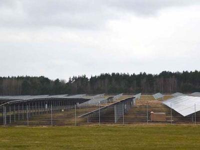Photovoltaikanlage Sonderlandeplatz Schipkau-Schwarzheide